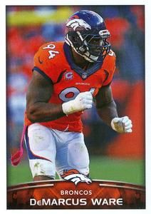 2015 Panini Stickers #189 DeMarcus Ware Front