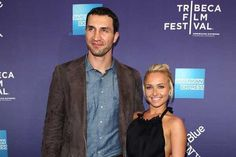 Hayden Panettiere and Wladimir Klitschko A baby belly and a six pack in Miami