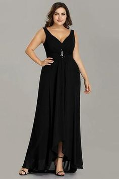 bf951cdf49580 Elegant Plus Size A Line Sleeveless Gown Formal Dress