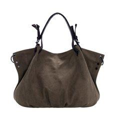 Women Canvas Casual Big Handbag Shoulder CrossBody Bags