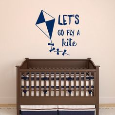 Mary Poppins Wall Decal Quote Lets Go Fly A Kite Motivational Quotes Children Wall Decals Bedroom Kids Room Nursery Playroom Wall Art Q257 by FabWallDecals on Etsy https://www.etsy.com/listing/249962764/mary-poppins-wall-decal-quote-lets-go