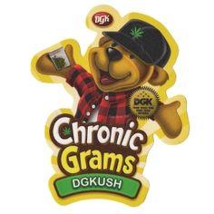 DGK Skateboards <br> DGK Chronic Gram Sticker