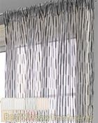 Glamour Sheer Curtain Drapery Panels; extra long ready-made curtains: Fire Retardant rating FR rated to California codes 701 - commercial, hospitality or residential