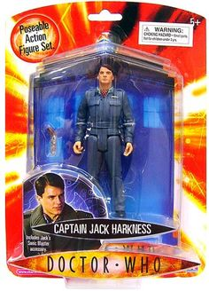"""Amazon.com: Doctor Who - 5"""" Action Figure Captain Jack Solid: Toys & Games In the Box!"""