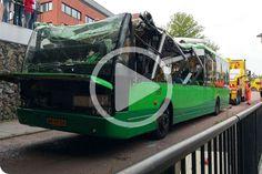 Kierowca autobusu w Apeldoorn wjechał pod wiadukt .  Czytaj więcej: http://www.poloniawholandii.com/artykul.php?id=477