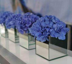 "5"" Mirrored Cube Glassware Wholesale Wedding Centerpiece- YQ90021 - Viva La Rosa Wedding Flower Arrangements, Wedding Table Centerpieces, Wedding Reception Decorations, Flower Centerpieces, Wedding Bouquets, Centerpiece Ideas, Modern Centerpieces, Wedding Venues, Floral Wedding"