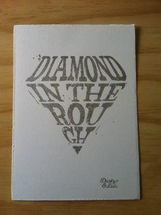 Diamond in the rough aladdin tattoo — photo 2