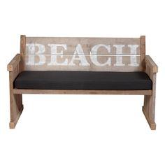 Love this beach bench.