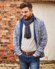 Double TWO Bar Harbour Casualwear AW16 | Get the look Casual Wear, Casual Outfits, Men Casual, Bar Harbour, Get The Look, Casual Shirts, Vintage Inspired, Knitwear, Menswear