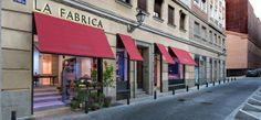 La Fábrica: Alameda, 9 (galería, tienda, librería y café-restaurante)  (m: Atocha, Anton Martin)
