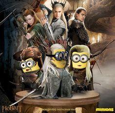 Hobbit Minions ~ Elves