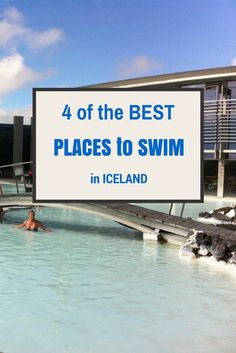 4 of the best places to SWIM in ICELAND @loumessugo