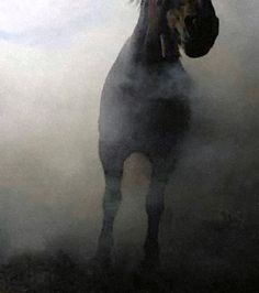 darksilenceinsuburbia:  Marten Tonnis. Brouillard, 2013. Oil on board, 45 x 53cm.