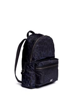 5bf1f0af7b4 DOLCE   GABBANA Leopard print nylon backpack Branding Design, Pride,  Packing, Backpacks,