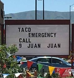 I've been saying for years that lack of tacos is a legit issue. Juan knows, man... Juan knows!