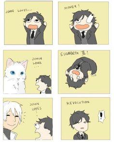 Jumin secretly love's Zen ^~^