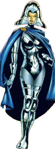 Lilandra Neramani - Empress of the Shi'ar Empire & one of Professor Xavier's most cherished loves.