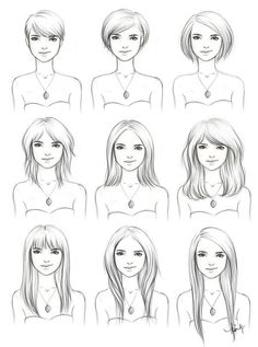 A guide for growing your hair out. The different stages of growing out your hair.