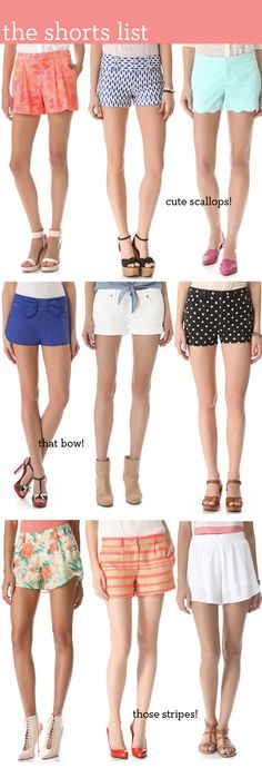 Best Shorts for Spring If you are looking for a unique short, check out some of these!If you are looking for a unique short, check out some of these! Rush Outfits, Preppy Outfits, College Outfits, Spring Wear, Spring Summer Fashion, Spring Outfits, Sorority Recruitment Outfits, Sorority Rush, Spring Shorts