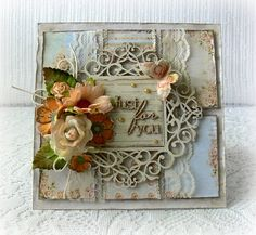 Handmade card any occasion card birthday by CarmenHandCrafts