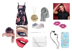 """""""Date with Cam"""" by annabroome on Polyvore featuring Alisa Michelle, Casetify, Skullcandy, Tory Burch, Ally Fashion, Calypso St. Barth, Zipz and Fiebiger"""