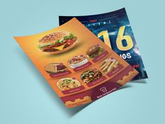 Flyers Designed for Restaurant opening and promote the Exclusive Products