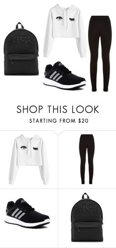 """""""SPORT"""" by juliadb on Polyvore featuring Theory, adidas and Givenchy"""