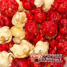 CANDY CANE CRUNCH POPCORN Looking for a snack that will take your breath away? Some say that peppermint candy isn't much to munch, but those that do have never sampled the popcorn called Candy Cane Crunch. http://www.popcorncarnival.com/details.cfm?id=12954