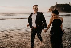 Beautiful Couple, Beautiful Sunset, Beach Engagement, Engagement Photos, Rialto Beach, Wind In My Hair, City Scene, Engagement Inspiration, Beach Photography