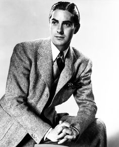 "wehadfacesthen: ""Tyrone Power, 1937 ""He was the most beautiful man I ever saw. Hooray For Hollywood, Hollywood Icons, Old Hollywood Glamour, Golden Age Of Hollywood, Vintage Hollywood, Hollywood Stars, Classic Hollywood, Old Hollywood Actors, Tyrone Power"
