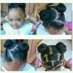 Hairstyles for toodlers and little girls
