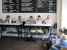 Check out which would be best for you. Includes benefits to using a coworking space instead of staying home!