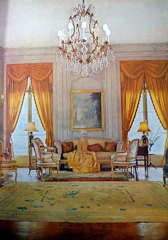Consuelo Vanderbilt Balsan -Vogue's Book of Houses, Gardens, People. Photo by Horst.