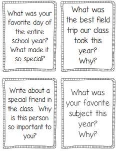 End of the Year printables and activities to keep students engaged during the last few weeks of school.