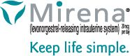 Mirena® (levonorgestrel-releasing intrauterine system) - Keep life simple.