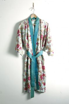 A bestseller in our Brighton boutique, these elegant kimono-style cotton robes make a beautiful gift for a someone special or luxurious treat for Dressing Gown Pattern, Cotton Lights, Fancy Pants, Kimono Fashion, Gowns, Style Inspiration, Clothes For Women, Beautiful, Kimono Style