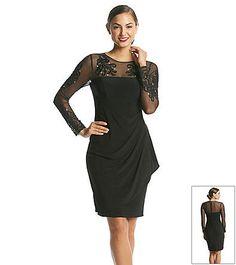 Long sleeve 50s dress xscape