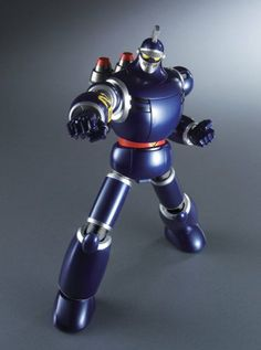 Amazon.com: GX-44S Tetsujin 28 Black Ox Set Soul of Chogokin Metal Figure: Toys Games