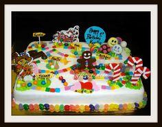 candyland sheet cake