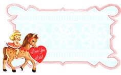 love you lots valentine freebie frame by Free Pretty Things For You!, via Flickr