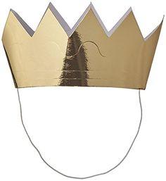 Mini Crowns 6/Pkg-Gold Creative Converting
