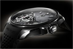 TAG HEUER GRAND CARRERA PENDULUM CONCEPT    To mark its 150th anniversary, TAG Heuer proudly introduces the TAG Heuer Pendulum Concept, a 2010 concept watch that turns an immutable principle of mechanical watchmaking on its head – it is the first movement without a hairspring.