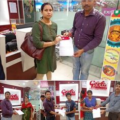 Geeta Fashions - Winners (28 photos) When we say YOU WIN, we make sure you get there! Big list of winners from the Geeta Fashions, Diamond Plaza, Kolkota. Find yourself and TAG, SHARE it with your friends...