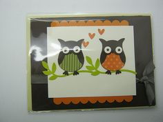 pretty owl cards