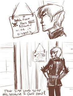 dragon age fenris is not allowed in ander´s room   Tumblr