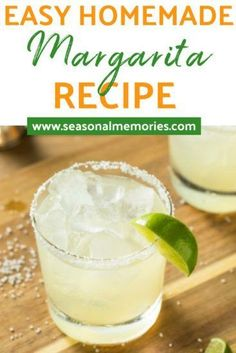 ShakeShakeShake Shake the margarita! Check out this super easy homemade margarita recipe! Refreshing with a hint of salt- perfect for the hot days ahead of us! Fresh Margarita Recipe, Homemade Margarita Mix, Homemade Margaritas, Perfect Margarita, How To Make Margaritas, Skinny Margarita, Jose Cuervo Margarita Mix Recipe, Cinco De Mayo, Cocktails