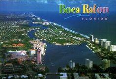 Boca Raton, Florida. Aerial view