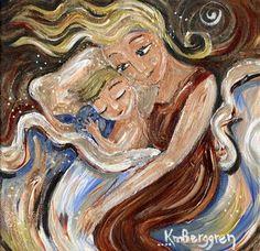 Mother & Child Inspiring Art Prints shop.kmberggren.com