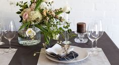 You're the couple everyone looks at and wonders how you do it. Let this registry collection enhance your effortless style.