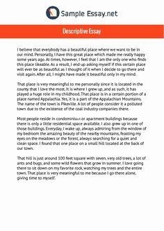 Sample Of Descriptive Essay - Sample Of Descriptive Essay , Writing A Personal Narrative Essay Examples format to Examples Of Descriptive Writing, Expository Essay Examples, Argumentative Essay Topics, Narrative Essay, Essay Writing Skills, Ielts Writing, Academic Writing, Writing Tips, Creative Writing